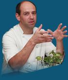 Denis PERRIN, chef cuisinier Les Trois Marchands à NOZAY